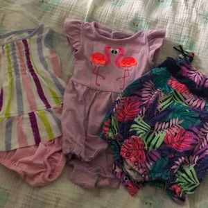 3 Cat and Jack newborn outfits
